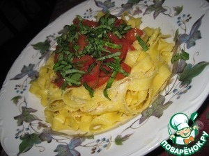 Рецепт Паста со свежими помидорами