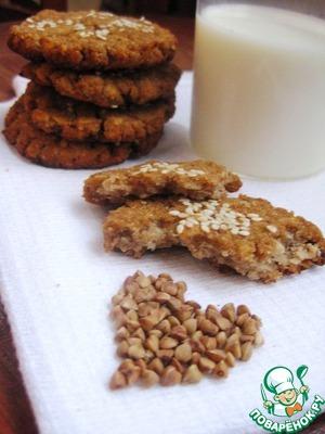 Рецепт Диетическое печенье из гречки