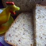 Овсяный хлеб с кукурузой