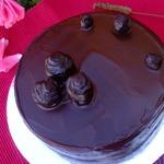 Торт Малиновый трюфель
