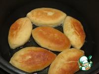 Пирожки с рисом, луком и яйцом ингредиенты
