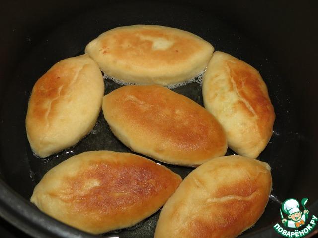 пироги с рисом и яйцом рецепт с фото