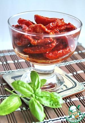 Рецепт Вяленые томаты длительного хранения без холодильника