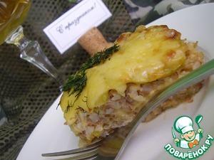Рецепт Запеканка гречневая с кабачком и сыром