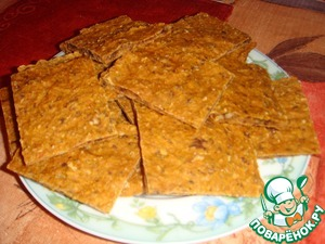 Домашний рецепт с фото Пряные луковые хлебцы