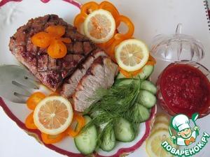 Рецепт Свинина в медовой глазури