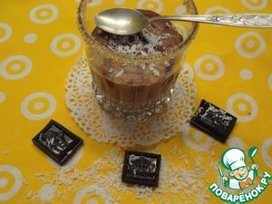 Шоколадный десерт с рисом домашний рецепт приготовления с фото