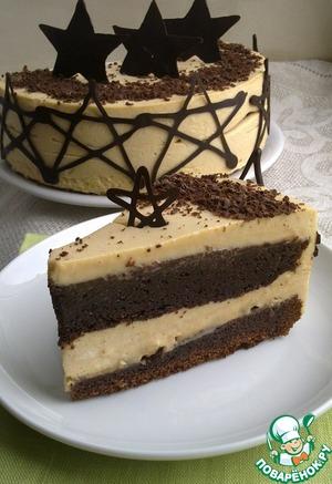 Рецепт Карамельно-шоколадный торт