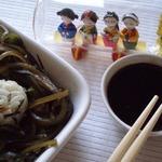 Теплый салат «Гнездо чайки»