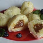 Творожный десерт с тремя начинками