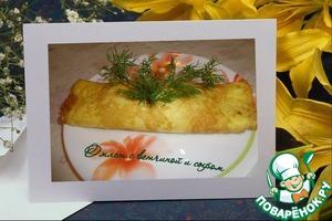 Рецепт Омлет с ветчиной и сыром и не только