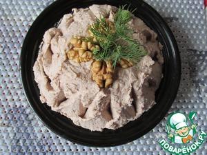 Рецепт Пряный сырно-фасолевый паштет