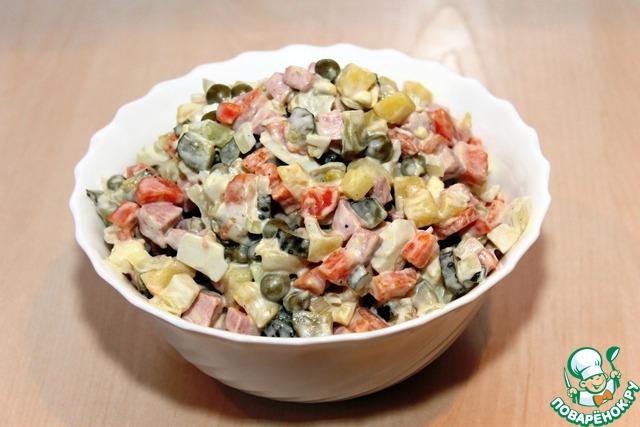 Самые проверенные рецепты - Салат с курицей
