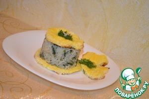 Рецепт Рис с укропом и омлетом