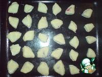 """Творожное печенье """"Ракушки"""" с вареньем ингредиенты"""