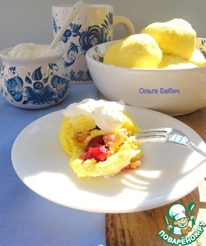 Рецепт Паровые пирожки с вишней