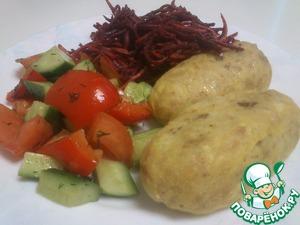 Рецепт Рыбные колбаски на пару