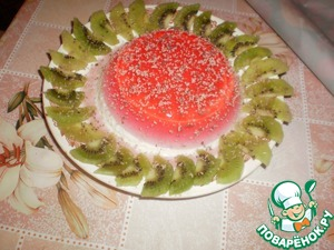 Рецепт Желейно-суфлейный тортик
