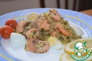 Рецепт Индийское блюдо из копченой форели