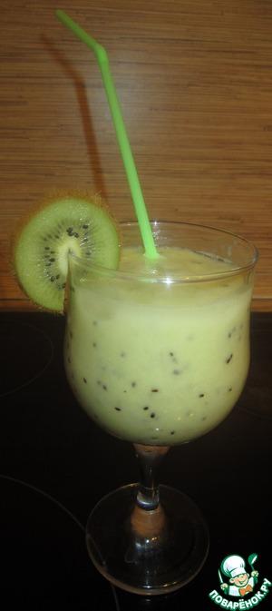 Рецепт Смузи из киви и банана