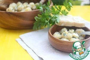 Рецепт Картофельный салат с фетой