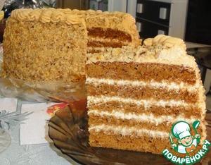 Рецепт Медовый торт в мультиварке