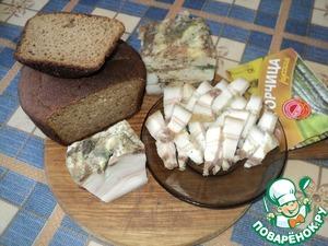 Рецепт Домашнее сало ароматное