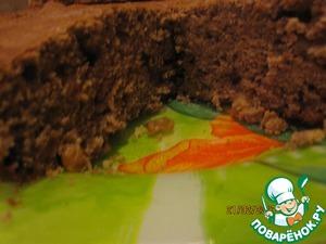 Рецепт Кекс шоколадный с изюмом