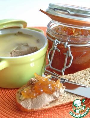 Рецепт Паштет из утиной печени (Terrine de Foie de Canard)