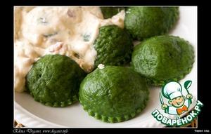 Рецепт Равиоли с грибами и сыром