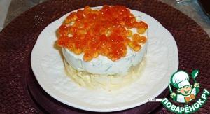 Рецепт Икорный тортик
