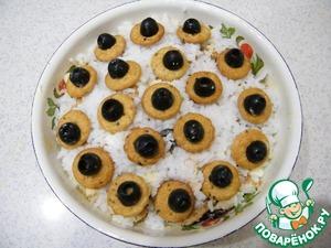 """Рецепт Салат """"Великолепный"""" с солёным крекером"""