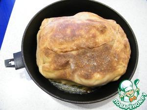 Рецепт Курица, фаршированная гречкой и грибами, в тесте