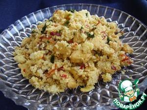 Рецепт Кус-кус с овощами, кешью и курицей