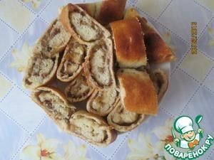 Рецепт Рулет с марципаном