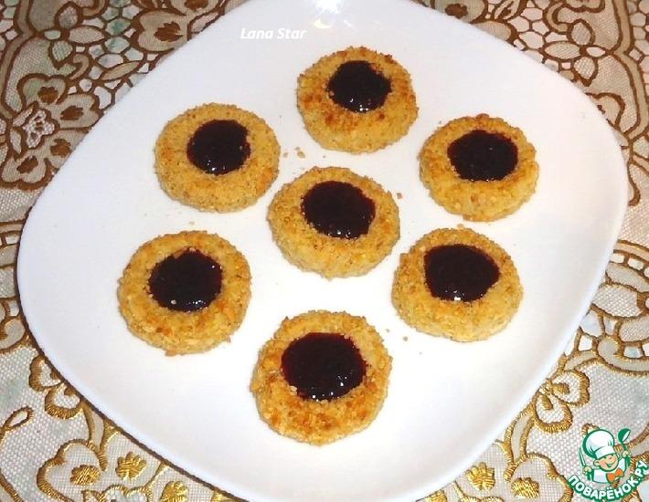 Печенье из пшенной каши