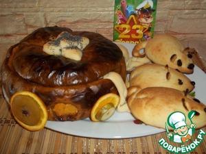 Рецепт Рисовая каша с бананом и шоколадом