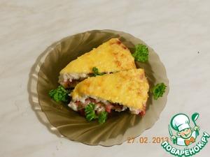 Рецепт Запеканка рисовая с ягодами и фруктами