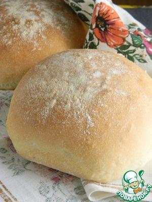 "Рецепт Хлеб на манной крупе ""Колобок"""