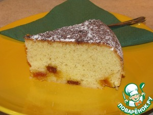 Рецепт Манный кекс с мармеладом