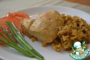 Рецепт Курица с рисом-карри по-тайски