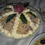 Шпротный салат Старая Рига