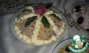 """Рецепт Шпротный салат """"Старая Рига"""""""