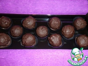 Рецепт Шоколадные конфеты с орехами и сухофруктами