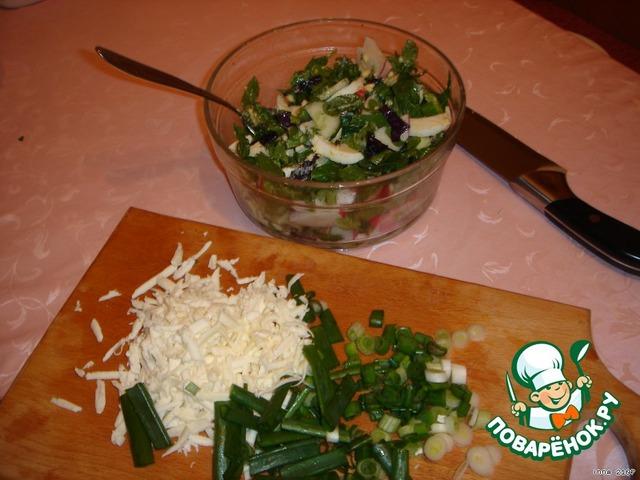 салат весенний с уксусом рецепт