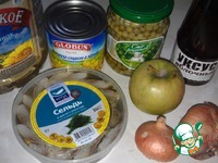 "Салат ""Объедение"" ингредиенты"