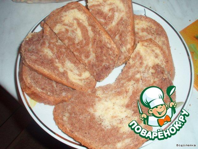 Кекс мраморный в хлебопечке рецепты с фото