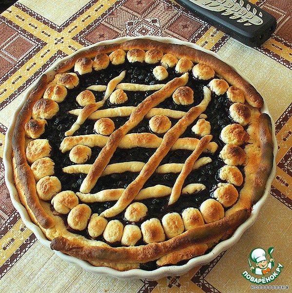 Готовим простой рецепт приготовления с фото Ягодный пирог на скорую руку #6