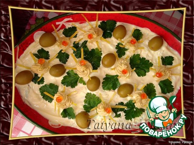 рецепт салата с тунцом и морковью