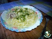 Суп с домашней лапшой ингредиенты